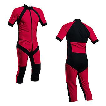 Skydiving summer suit red s2-02 | chilli red colour