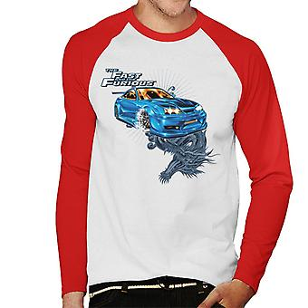 Fast and Furious Tokyo Drift Dragon Men-apos;s Baseball Long Sleeves T-Shirt