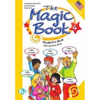 The Magic Book: Student's Boek met Activiteitenboek 4