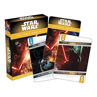 Star wars - ep. 7 the force awakens playing cards