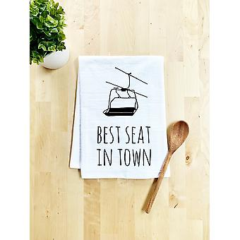 Best Seat In Town Dish Towel