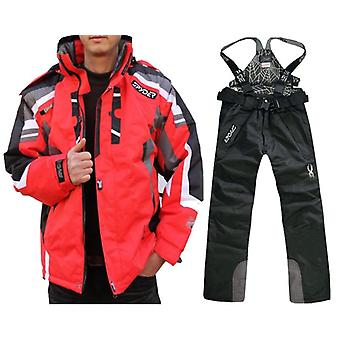 Waterproof Snow Skiing Jacket-pant Suit Set