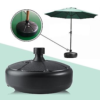 Umbrella Base Stand kerek Patio Beach Garden Patio Umbrella Támogatás Sun Shelter
