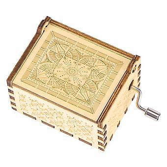 Engrave Handmade Wooden Anastasia Music Box For Lovers