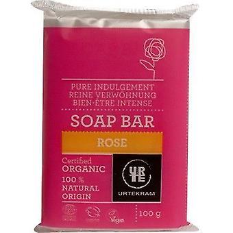 Urtekram Organic Rose Soap Bar 100g x12