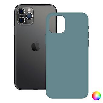 Case iPhone 11 Pro KSIX Soft Silicone/Green