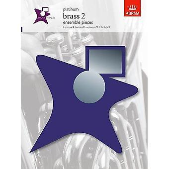 Medalhas musicais Abrsm: Brass 2 Ensemble Pieces - Platinum Bass Clef Instruments, Tr