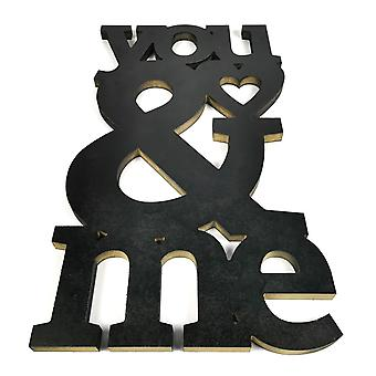 You & Me Valentine love home decoration 53cm