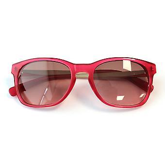 Karl Lagerfeld KL Fuschia Pink Womens Plastic UV Shades Sunglasses KS6010 086