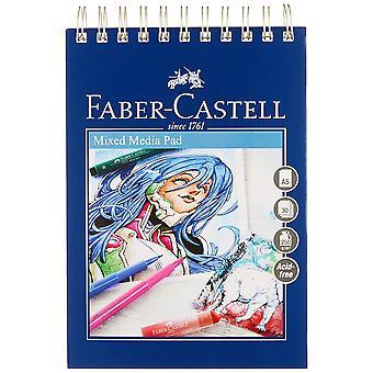 Faber-castell kreativ studio mixed media pad, a5 250 gsm pad av 30 ark