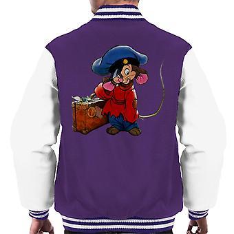 Ein amerikanischer Schwanz Fievel Mousekewitz und Koffer Men's Varsity Jacke
