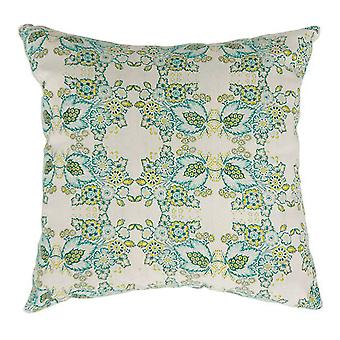 Eva Contemporary Big Pillow avec tissu, finition multicolore, ensemble de 2