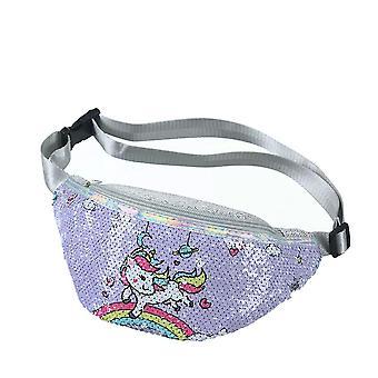 Cute Unicorn Female Waist Belt Bag