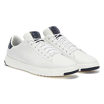 Cole Haan Grandpro Tennis Mens White / Navy Trainers