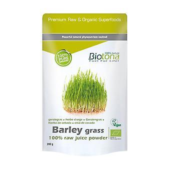 Barley Grass Raw Organic Barley 200 g