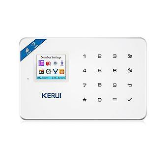 W18 Vezérlőpult Wifi Gsm Sms Home Betörés biztonsági riasztó rendszer