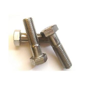 M24 X 100 Mm Hex Bolt - A4 Stainless Steel Din931