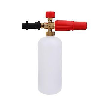 Washer snow car wash cleaning detergent bottle lance fit soap sprayer foam cup for karcher 1l pressure