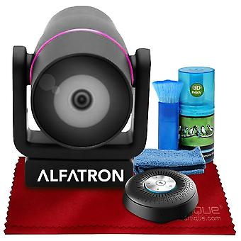 Alfatron alf-cmb201 usb bluetooth speaker and microphone 2-in-1, 8m far-field voice pickup with 360-degree mic array basic accessories ps08871