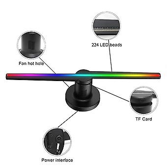 3d-hologram Projector, Led Beades And 3d-advertising Led Fan, Holographic Image