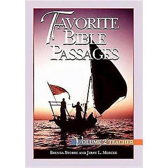 Favourite Bible Passages - v. 2 - Leader Guide by Brenda Stobbe - 97806