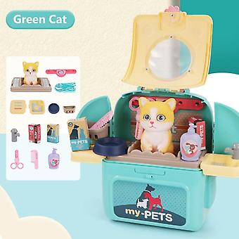 Pet Veterinarian Playset With Backpack Pretend Play