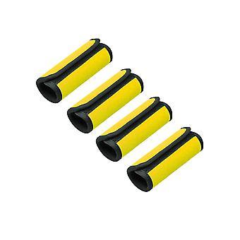 Neoprene luggage handle wrap grips 4 pack
