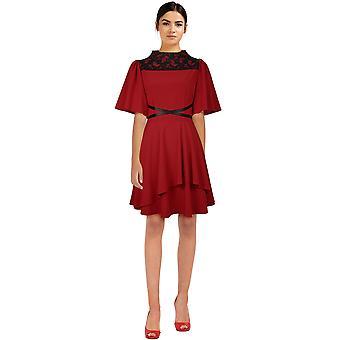 Chic Star Cross Mini mekko punainen
