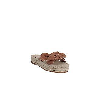 Loeffler Randall | Daisy Leather Espadrille Platform Slide Sandals