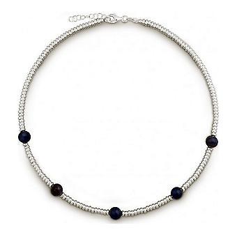 QUINN - Halskette - Damen - Silber 925 - Edelstein - Dumortierit - 27169318