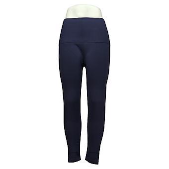 Breezies Seamless Tummy Smoothing Legging Blue A388306