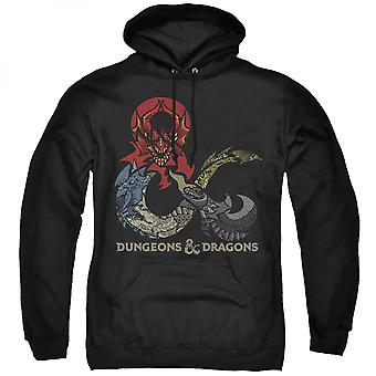 Dungeons & Dragons on Dragons on Dragons Hoodie