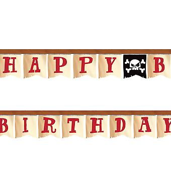 Pirate Tematyce JointEd Party Banner - 2 metry- Kids Party Supplies