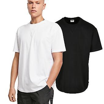 Urban Classics - EKOLOGISK böjd överdimensionerad skjorta