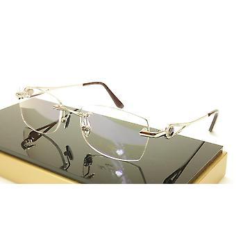 Paul Vosheront PV360 C2 Gold plated Eyeglasses Frame Italy 54-18-135