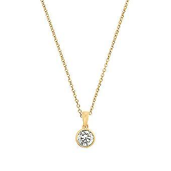 s.Oliver, kaulakoru naisten riipuksia, kullattu hopea 925 zircons