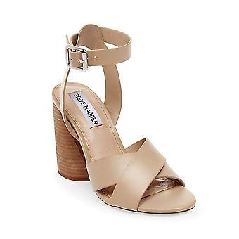 Steve Madden kvinner Wendel NuBuck åpen tå casual ankel stropp sandaler