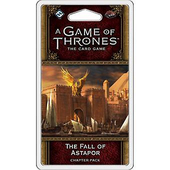 Un juego de tronos el juego de cartas segunda edición la caída de Astapor