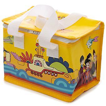 Woven Picnic Cool Bag - Yellow Submarine