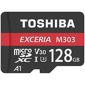 Toshiba Memory Cards - 128GB M303 U3 Class 10