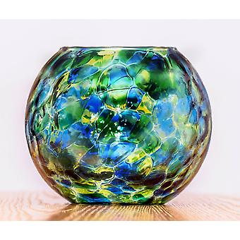 Friendship Night Light Tealight Holder - Sea Green by Milford Collection