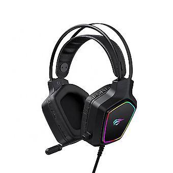 Havit Gaming Headset - Headphones with Microphone and RBG Lighting