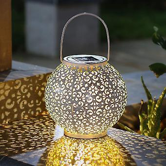 Metall sollykter å henge for patio, utendørs eller bord