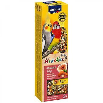 Vitakraft Krcker Almond And Fig P / 2 - For Large Parakeet
