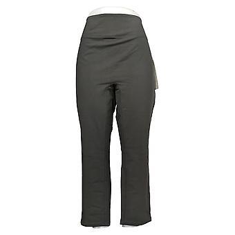 Vrouwen met Control Dames Petite Pants Buik controle Slank Been Grijs A391212