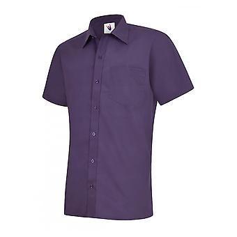 Uneek Mens Poplin Half Sleeve Shirt UC710