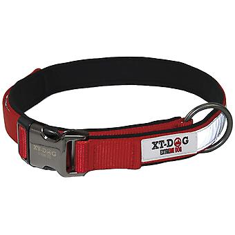 Xt-Dog Nylon Reflective Collar Red (Dogs , Collars, Leads and Harnesses , Collars)