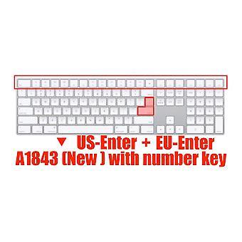 Keyboard protectors magic keyboard silicone keyboard cover  for apple imac