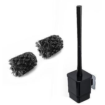 Toiletborstels Houders Huishoudelijk Toiletrek Set Toiletborstel Gratis Punch Toiletborstel Zwart