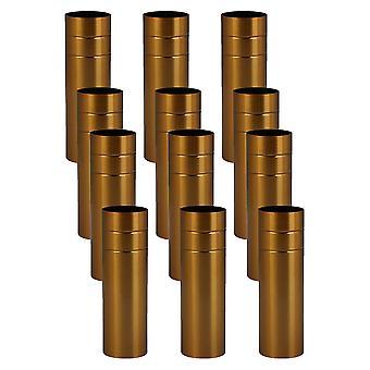 Lâmpadas 12pcs 8x2,5cm capa de luz base candelabro para pingente europeu